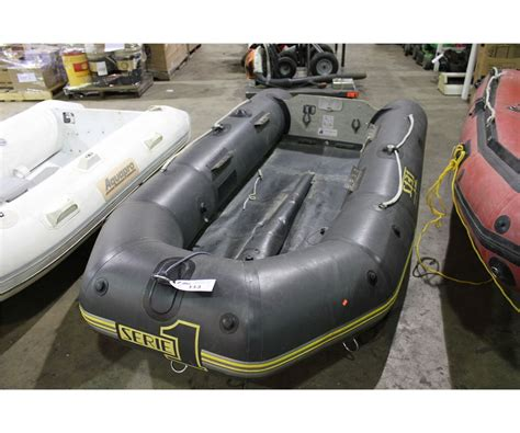 zodiac boat auction zodiac s131 10 soft hull inflatable boat able auctions