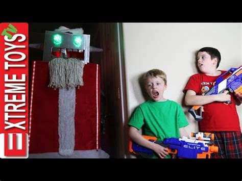 haunted doll attacks ethan mystery creature attack ethan vs cole nerf