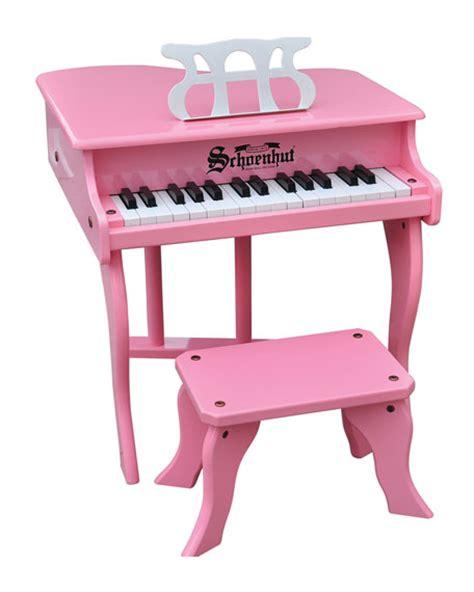 schoenhut 30 key fancy baby grand with bench schoenhut 30 key fancy baby grand toy piano pink