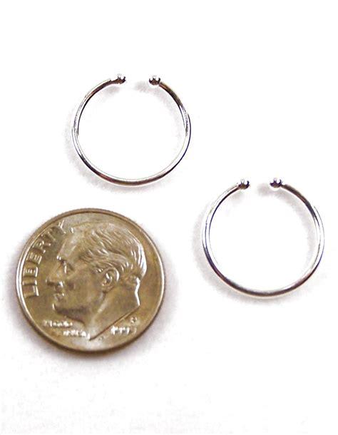 Gold Pierced Earrings by Non Pierced Hoop Earrings Gold Hoop Earrings Silver