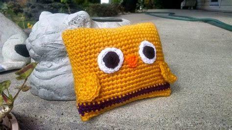 crochet amigurumi mini b 233 b 233 hibou oreiller