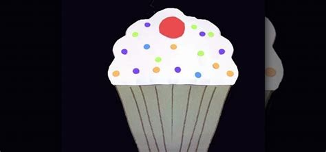 How To Make A Paper Cupcake - how to make a cupcake out of colored construction paper