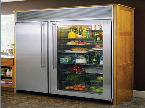 what are the benefits of purchasing glass door fridges