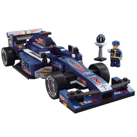 formula 2 f2 1 f1 blue x large racer racing fast car building bricks set 1 24 ebay