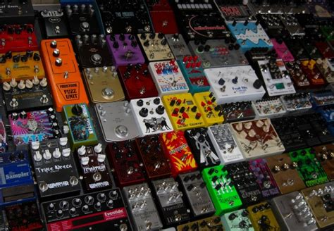 tutorial guitar effects 16 guitar effects pedals every guitar player must have