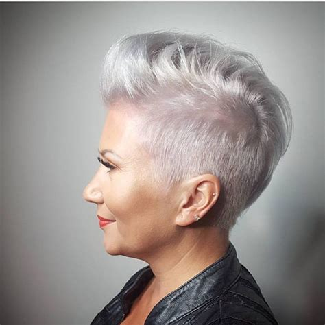 edgy haircuts for gray hair 404 best images about edgy short hair on pinterest bobs