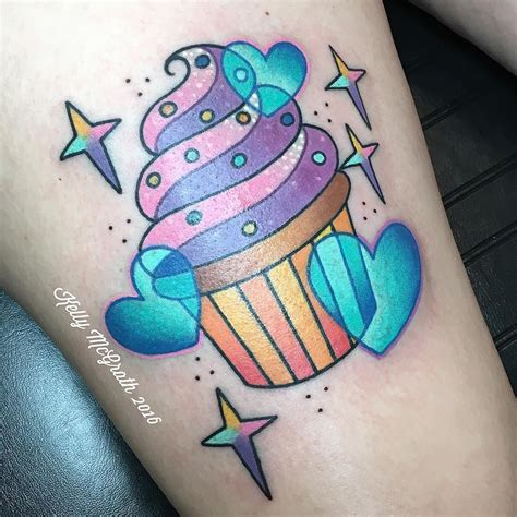 candy and cupcake tattoo designs cupcake hearts ideas