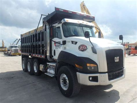 dump truck 2014 caterpillar ct660 heavy duty dump truck for sale