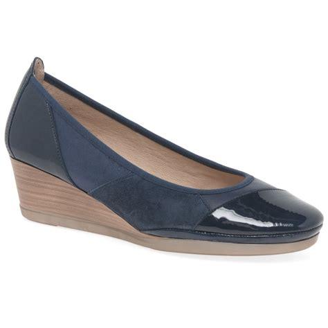 hispanitas shoes hispanitas carrie womens wedge heel court shoes charles
