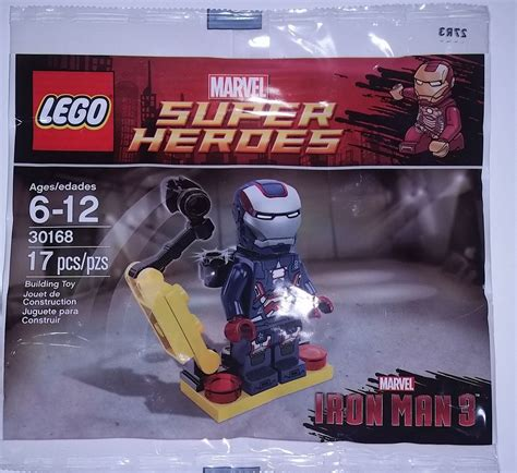 Lego 30168 Ironman Minifigure complete list of all lego marvel and dc