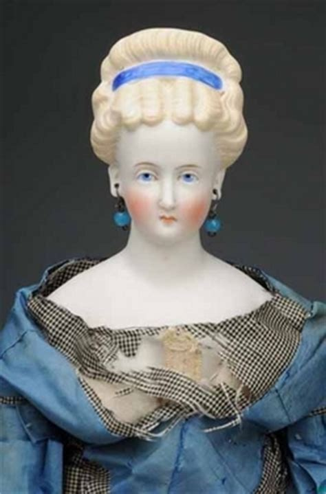 antique parian dolls for sale parian doll german blue painted closed