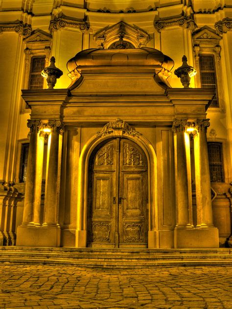 golden doors a golden door in a residential building in