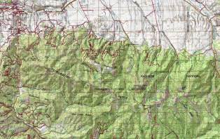 map of oregon mountain ranges hiking eastern oregon the strawberry mountain range oregon outside