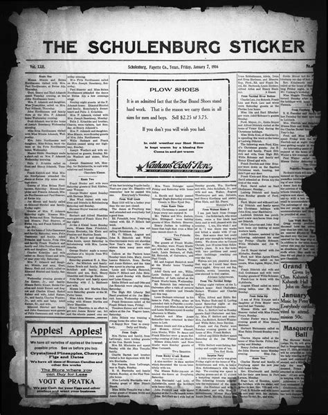 the schulenburg sticker schulenburg tex vol 33 no the schulenburg sticker schulenburg tex vol 22 no