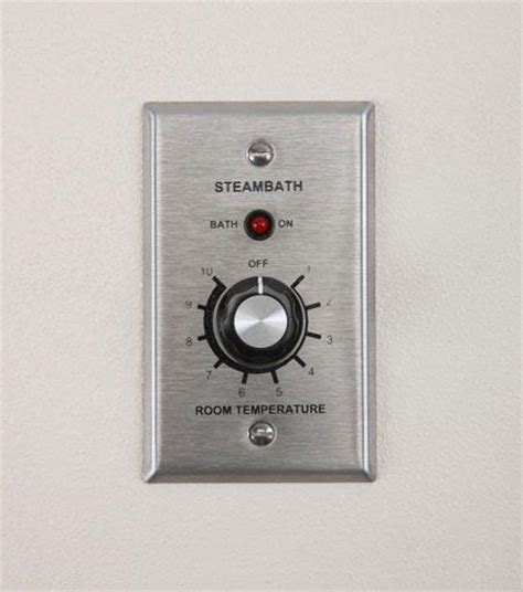 Steam Room Temperature by Amerec It1 Thermostat Ai Series Steamsaunabath