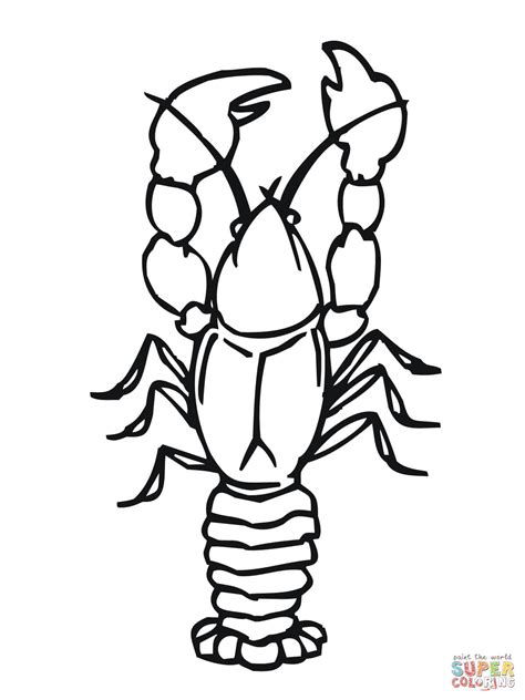 coloring pictures crawdad coloring coloring