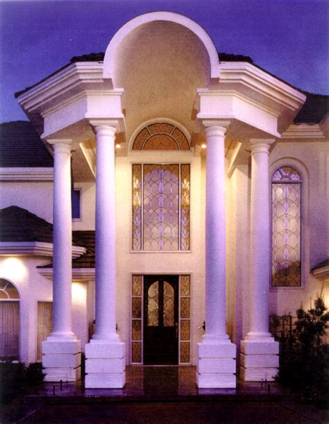 home exterior design with pillars entryways with columns home decoration club