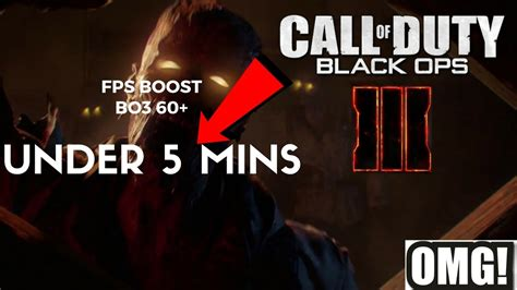Call Of Duty 60 fps boost tutorial 60 call of duty bo3 easy 2017 doovi