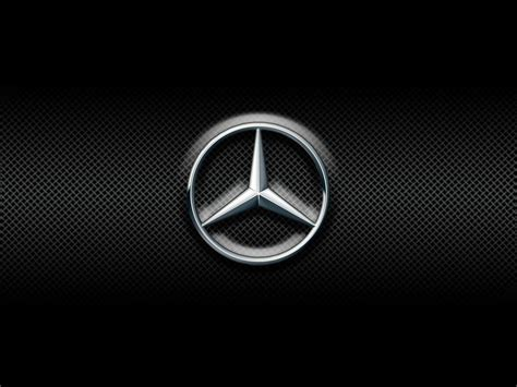 mercedes logo black background mercedes logo wallpapers wallpaper cave