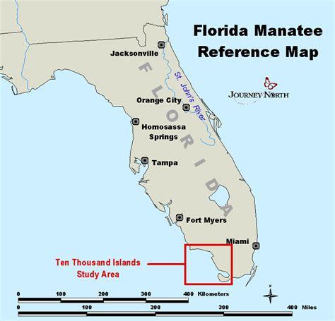 map of ten thousand islands florida journey manatee 2002
