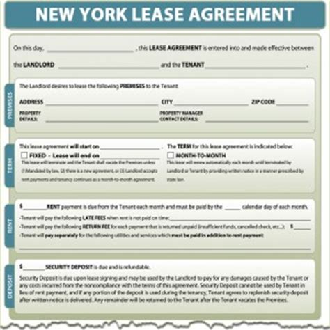 Sle Lease Termination Agreement New York New York Lease Agreement