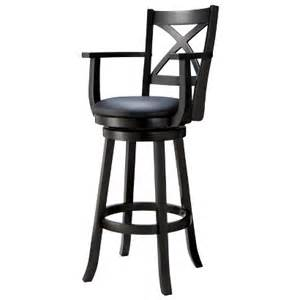 29 Bar Stools With Back Emerson X Back Swivel 30 39 Quot Barstool Black Target