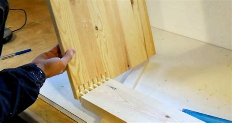 finger jointing cabinet corners