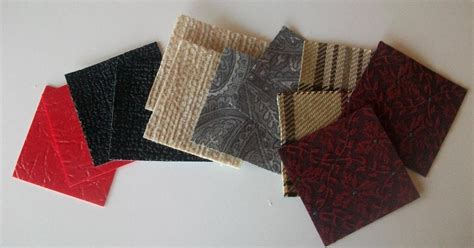 pattern matching fabric teaching from a tackle box montessori fabric matching