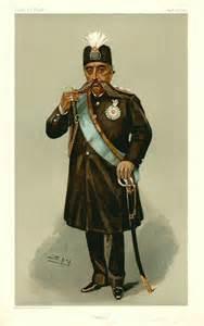 Vanity Fair London File Mozaffar Ad Din Shah Qajar Vanity Fair 1903 01 29