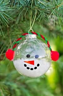 Ornament Craft For Kids - cute christmas snowman craft kids pinterest