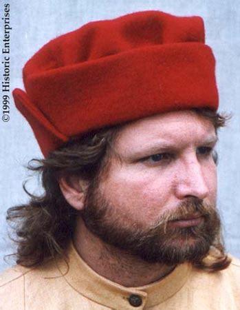 16th century men hats hat split brim 15th 16th century dress medieval