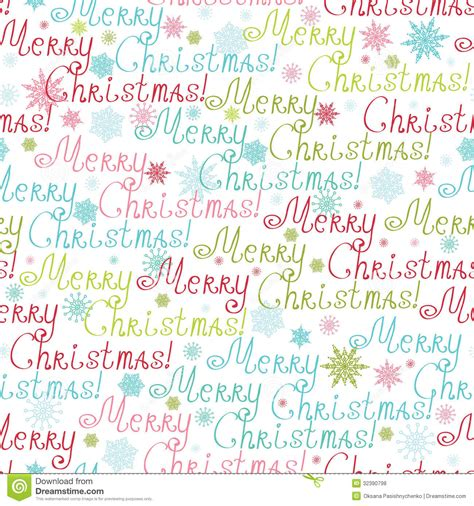 christmas pattern word merry christmas text seamless pattern background royalty