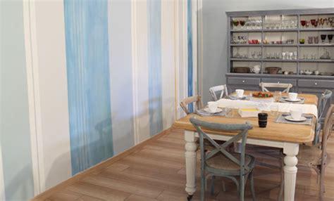 Muro A Righe Verticali by Dipingere Il Muro A Righe I Fai Da Te Delle Artiste Per