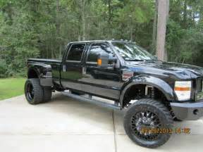 Ford Dually Lifted Find Used Custom Lifted Ford F 450 4x4 Lariat Dually In