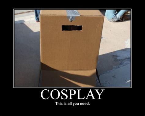 Cardboard Box Meme - cosplay