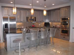 Metallic Kitchen Cabinets Decorative Paint Projects To Inspire Modern Masters