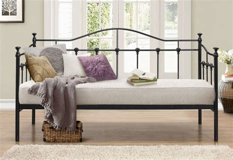 Wrought Iron Daybed Birlea Furniture Torino Single Daybed Or Black Wrought Iron With Or Without Comfort