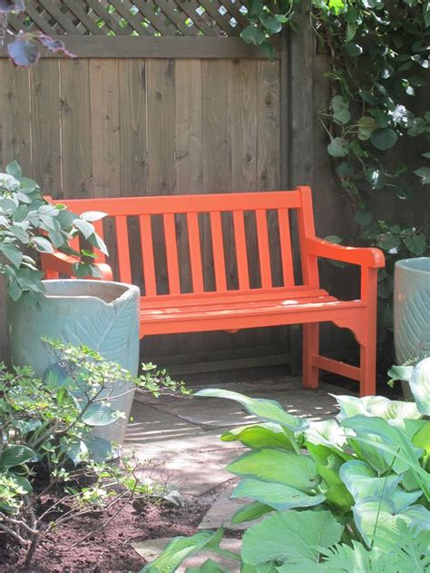 garden bench color ideas images pinterest
