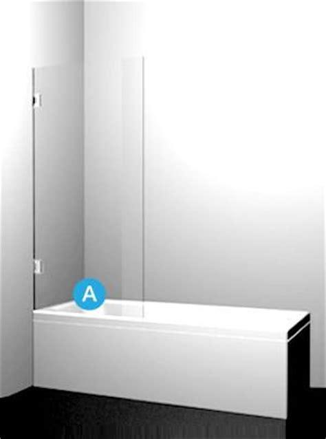Fixed Glass Bath Shower Screen by Sydney Custom Measured Frameless Glass Shower Screen
