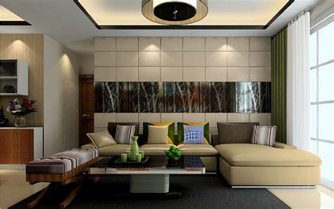 Modern Japanese Style Home Design living room background interior design