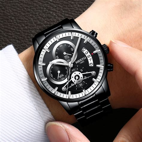 Top 7 Watches by Nibosi Watches Luxury Top Brand 2018 New Business