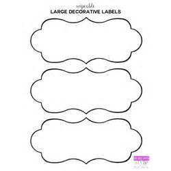 large label template free printable organizing labels for all your stuff in