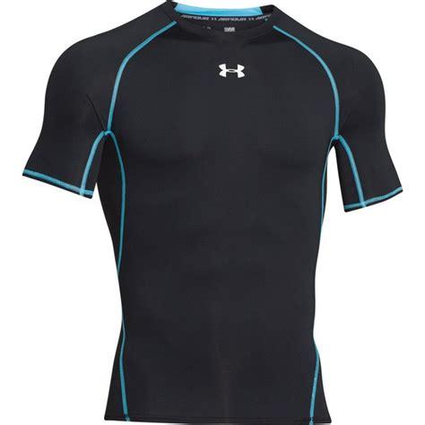 Big Size Baselayer Manset Armour Heat Gear Black Xl Fit To armour s armour heat gear sleeve t shirt black island blue sports