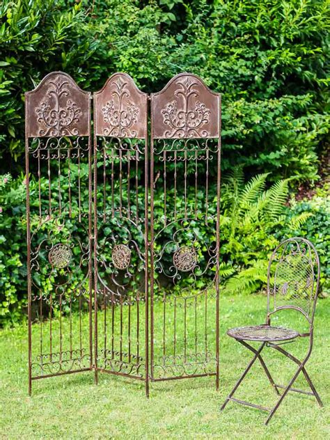 Decorative Plant Trellis Decorative Screen Antique Style Trellis Wrought Iron