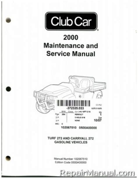 service manual car owners manuals for sale 2000 nissan xterra regenerative braking 2001 04 2000 club car turf carryall 272 golf cart service manual