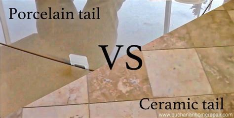porcelain vs ceramic tile difference between ceramic and porcelain tiles