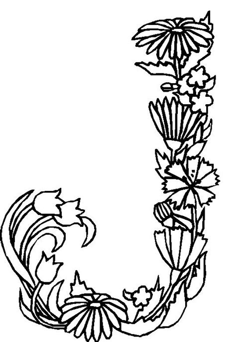 coloring pages of flowers with names free coloring pages of names adults