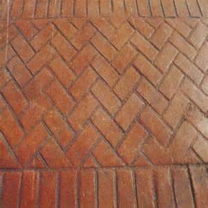 brick herringbone pattern photo sidewalk
