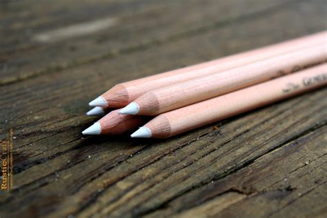 white chalk pencil for chalkboards white by rusticcraftdesign