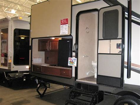 rv with bathroom pods tear drop cers madison rv show scenic pathways